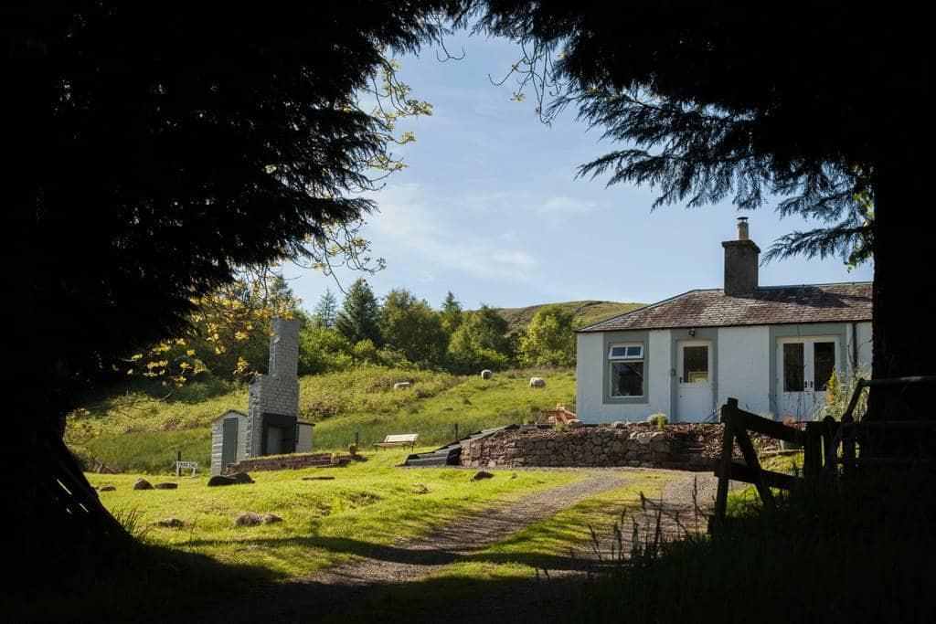 Brae Cottage rural retreat in Scotland