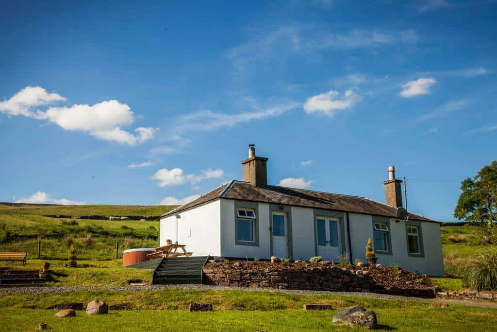 Brae cottage self catering holiday home for short breaks in Scotland