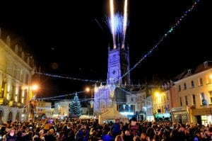 Cirencester light switch on 2018