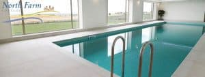 Indoor swimming pool in Northumberland