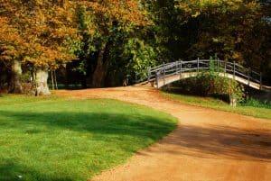 A countryside break by a bridge