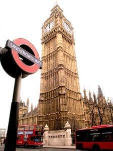 Big ben in London UK for a city break