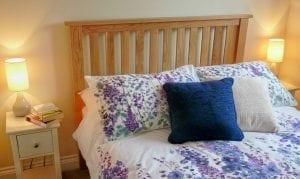 Little Egret romantic apartment bedroom