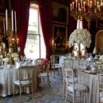 Tempest hall dinner set at luxury house to rent