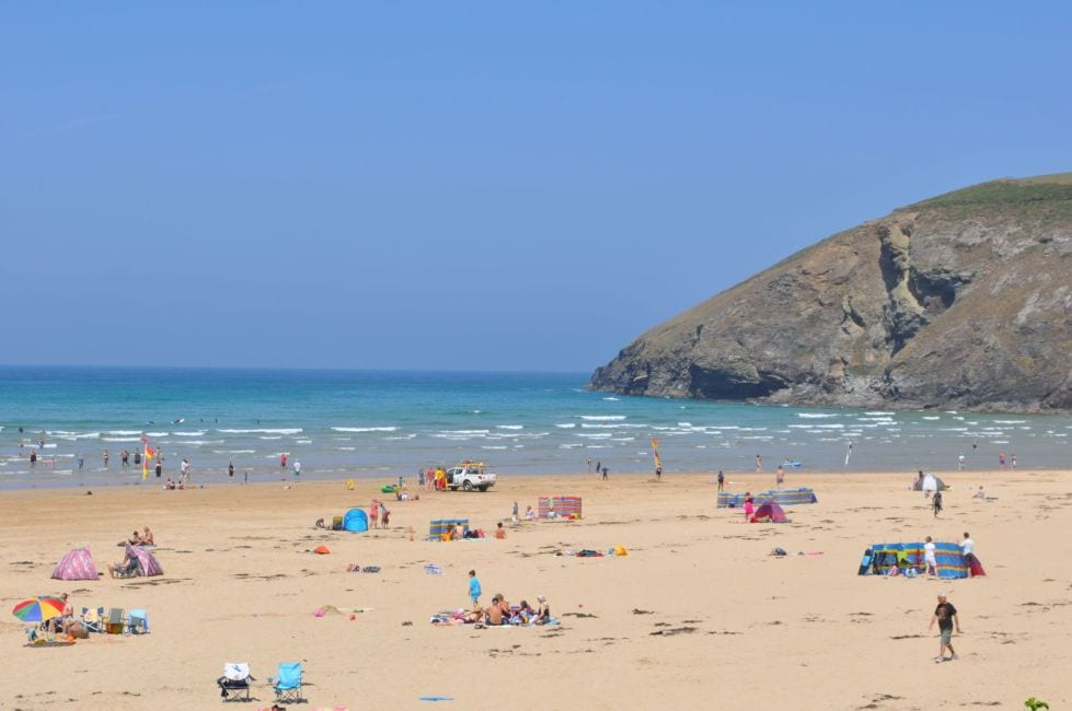 Local sandy beaches for short breaks and midweek breaks in Cornwall