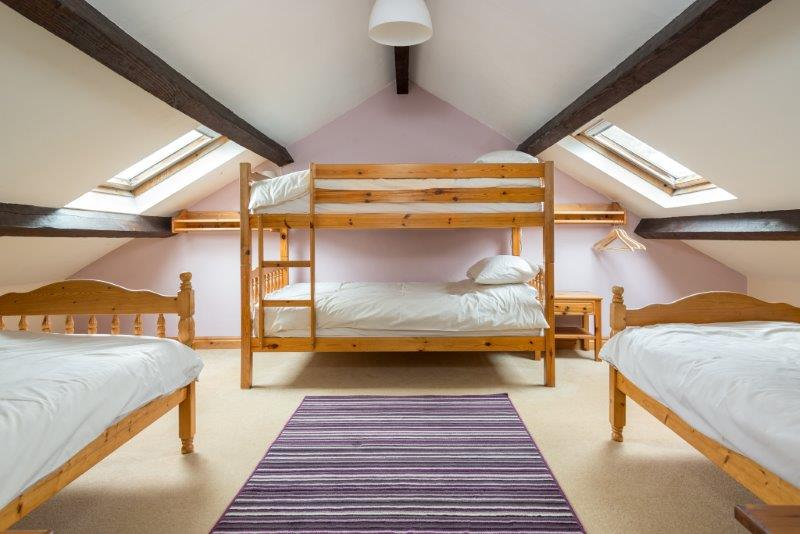 Self catering accommodation with a large family/group room