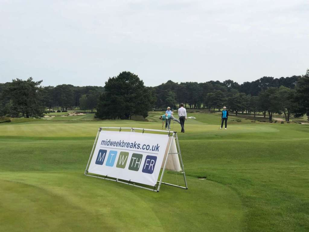 Midweek Breaks at Ferndown Golf course near great self catering accommodation