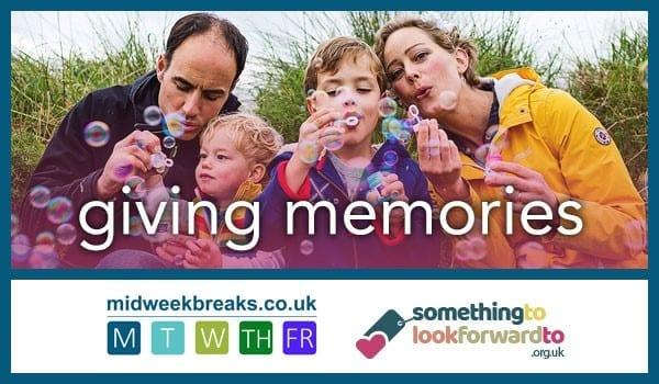 Midweek Breaks supporting Something to look forward to