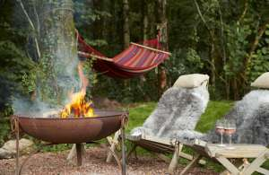 Fire pit to keep warm on chilly autumn nights