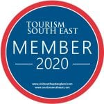 Tourism South East logo for the year 2020